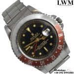 Rolex GMT Master 1675 Cornino Glossy Gilt Chapter