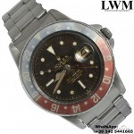 Rolex GMT Master 1675 Tropical brown Gilt OCC PCG